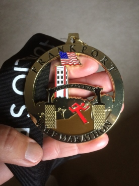 Finisher's medal - Not and A/G medal.